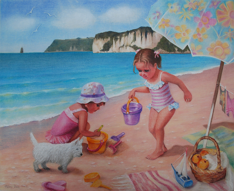 Pastel 54cm X 44cm Commission